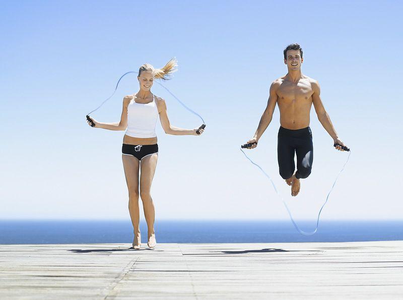 прыжки на скакалке скакалка калории прыжки польза как прыгать длина скакалки