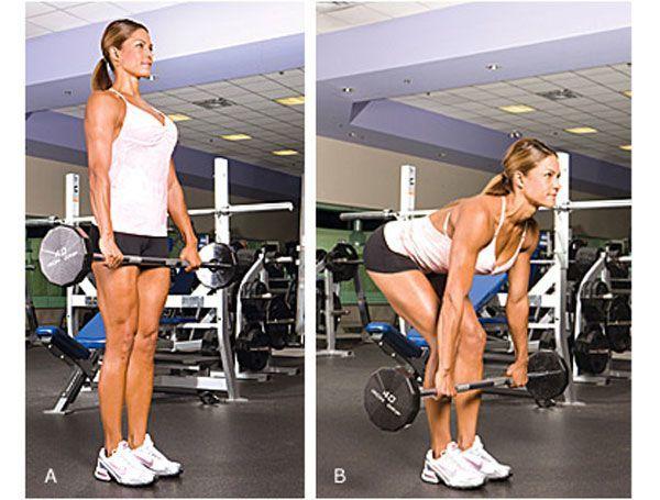 становая тяга, мышцы, ягодицы, трапеция, квадрицепсы, предплечья, широчайшие, ошибки для девушек тренировка упражнение