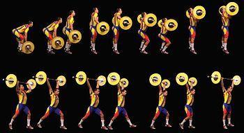 Тяжелая атлетика толчок штанги секреты фитнеса ЗОЖ спорт фитнес тренировка упражнение