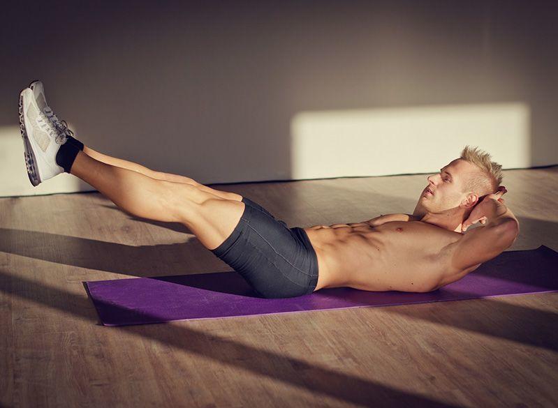 Тренировки дома, программа тренировок дома, дома, пресс, мышцы